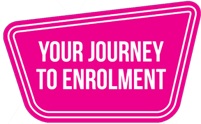 Your Journey to Enrolment